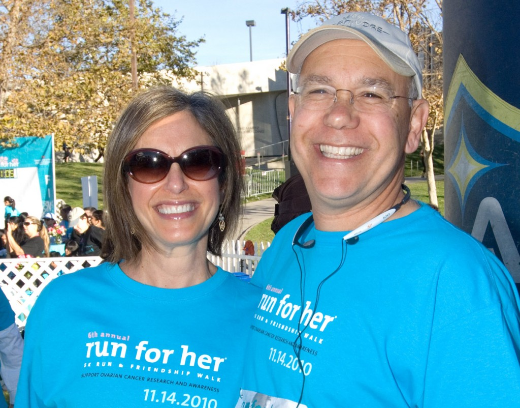 Beth Y. Karlan, MD, and her husband Scott Karlan, MD
